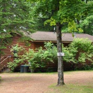 Half log exterior