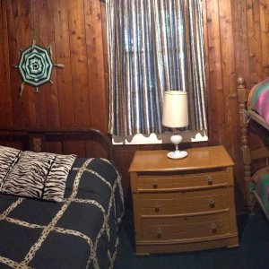 Full Bed and Set of Bunks