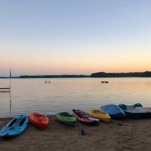 kayaks and paddleboards for your use